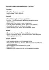 Leselupe Textbeschreibung