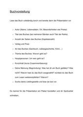 Tafelanschrieb/Folie Buchpräsentation