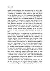 Hexenball-Märchen als Grundlage für Collage
