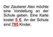 Schriftliches Multiplizieren/ Einführung 5. Klasse
