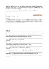 Übung zu Kommas bei Aufzählung, Apposition, nachgestellte Erläuterung, Briefanrede