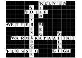 Kreuzworträtsel zum Thema Wärme