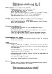Buchvorstellung GS, Kl. 4 BW