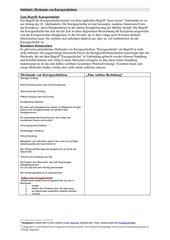 Merkmale und Analyse von Kurzgeschichten