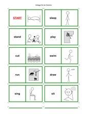Domino englische Verben
