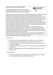 Bundeshaushalt / Konjunkturpaket