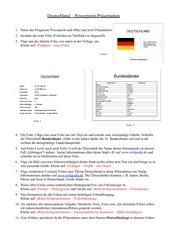 Deutschland - Powerpoint-Präsentation