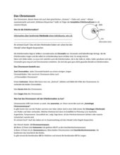 Einführung Ergbgut & Chromosom