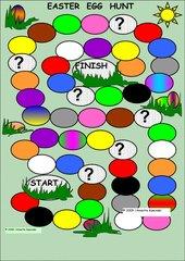 Easter Egg Hunt  -  Boardgame ab Klasse 1