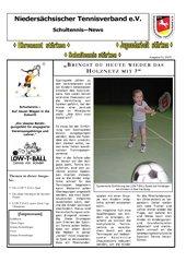 Spielerische Einführung in die Sportart Tennis