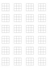 Bingo zur Division/ Kleines Einmaleins