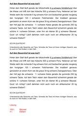 Quatschgeschichte zu Gewichten/Massen  (g,kg,t)