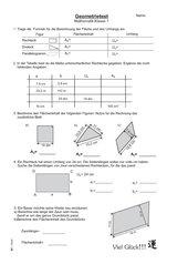 Geometrietest Klasse 7