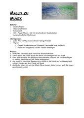 Malen zu Musik