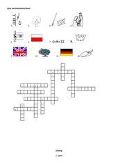Kreuzworträtsel- Schulfächer