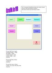 Grafik in Visual Basic