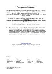 Schatzsuche - Treasure Hunt - Wegbeschreibung