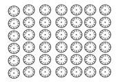 Blankouhren What time is it?