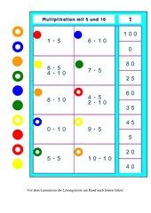 Logicokarten Multiplikation