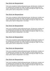 Satzglieder kombiniert als Aufsatzübung (Text)