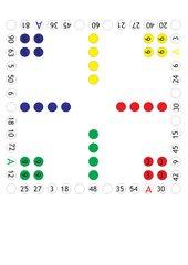 Mensch-ärgere-dich-nicht über das Einmaleins (3,6,5 und 9er-Reihe)