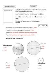 Kreisberechnungen