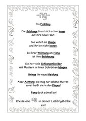 ng-Laut: Schlangen (3 ABs)