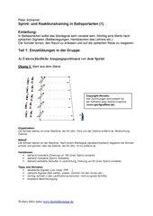Sprint- und Reaktionstraining (1)