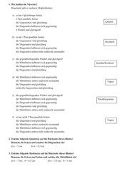 Viele Arten von Vierecken, Textaufgaben zur Unterscheidung