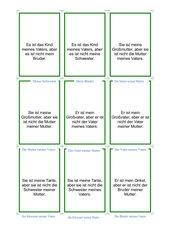 Quizzkarten zum Thema