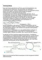 Chemosynthese