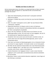 Arbeitsblatt Passiv-Aktiv
