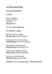 Folien zu Frage nach allen Satzteilen