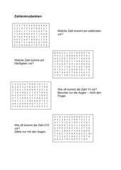 Zahlenknobeleien 1