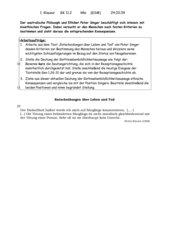 Klausur Ethik GK 11 kath. Religion