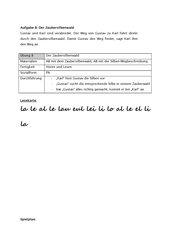 Alphabetisierung -  Silben-Zauberwald