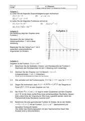 Klasse 11 4. Klausur