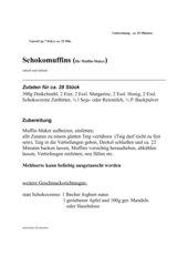Schokomuffins