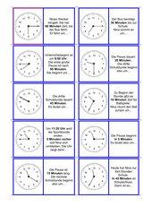 Domino Uhrzeiten