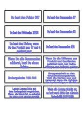 Grundrechnungen mit Plättchen (Text)