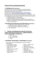 15 Themenvorschläge für Präsentationen