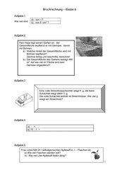 Bruchrechnung (Multiplikation u. Division)2