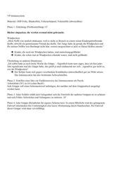 Immunsystem - Phasenentwurf und Arbeitsmaterial