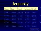 Bio-Jeopardy PowerPoint