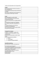 Aufsatzbewertungsschema Textinterpretation