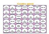 Spielerische Wiederholung der ar-Verben (4 Gewinnt) Unidad 2a