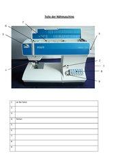 Einführung der Nähmaschine Pfaff select 2.0