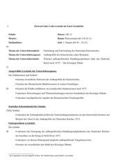 UR-Entwurf: Außenpolitik des Kaiserreiches unter Bismarck-Kissinger Diktat