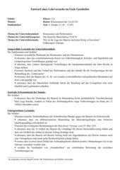 UR-Entwurf: Ergebnisse des Bauernkrieges. Fallbeispiel Ortenau (Renchener Vertrag)