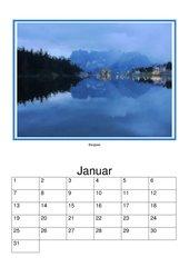 Immerwährender Kalender - Wasser